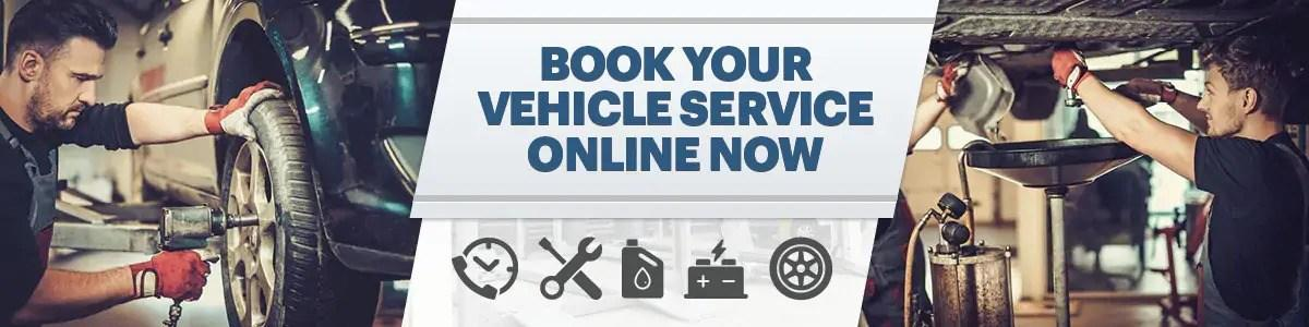 Book your vehicle service online now